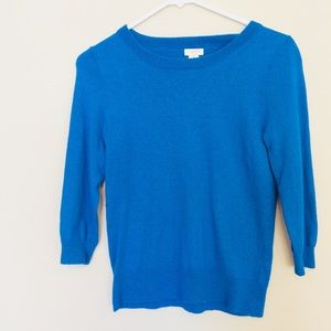 J Crew | Blue Sweater Medium